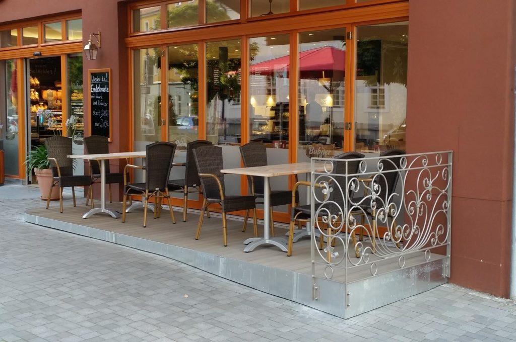 Stahlbau IWUP GmbH Terrassen