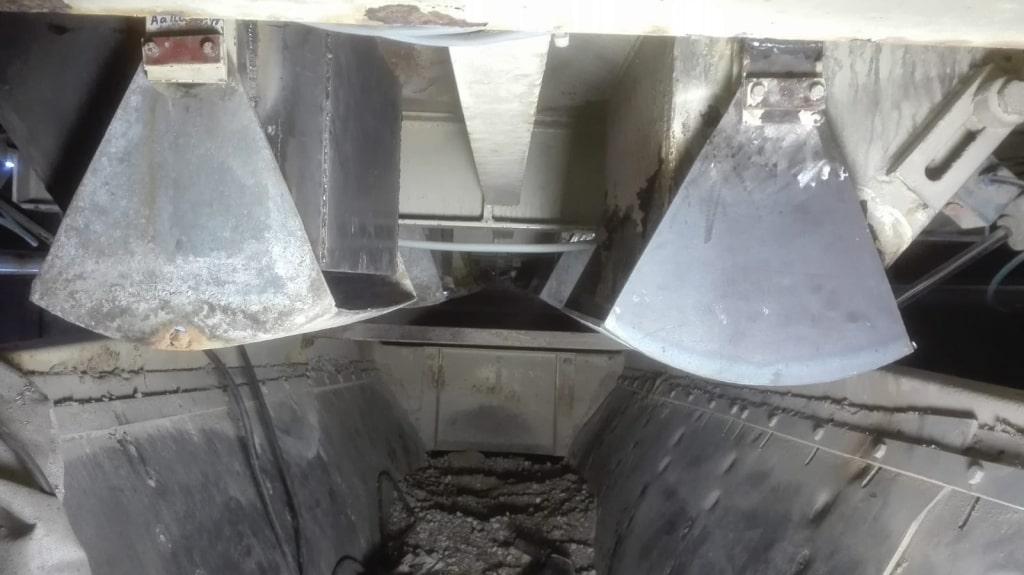Rep Trichter und Dosierklappe - Betonmischanlage